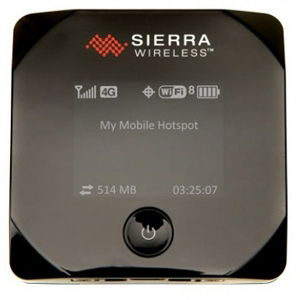 3G модем Sierra Wireless 802S экран